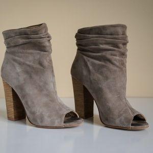 Kristin Cavallari Taupe Women's Laurel Boot